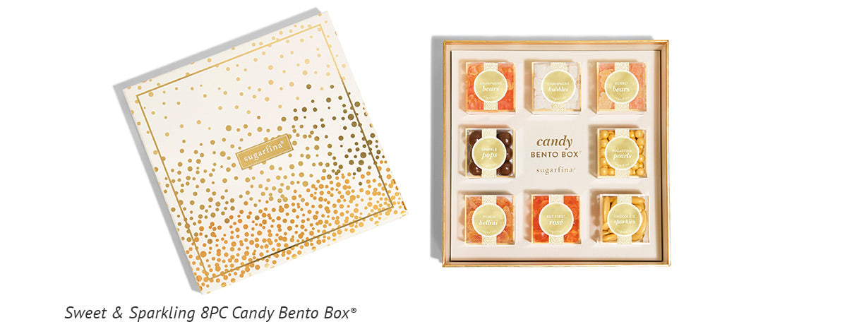 Sugarfina Sweet and Sparkling 8PC Candy Bento Box