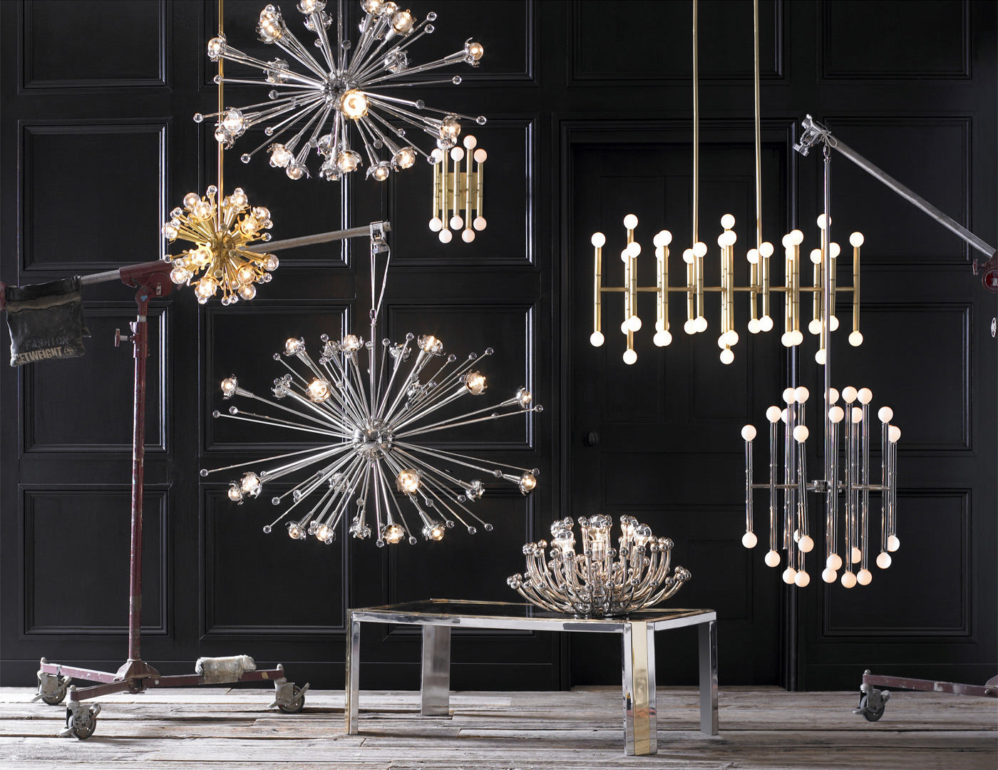 3 tips for choosing the perfect chandelier. Image by Jonathan Adler