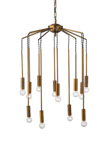 jamie young cascade pendant illuminated