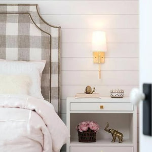 worlds away molly wall sconce gold bedroom lighting nightstand