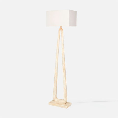 made goods weldon floor lamp angle