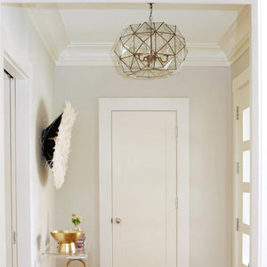 worlds away rozz pendant clear entry way foyer lighting