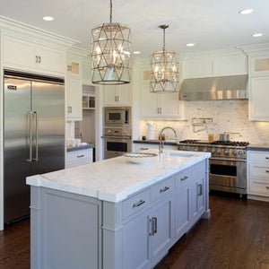 worlds away mariah pendant clear kitchen island lighting