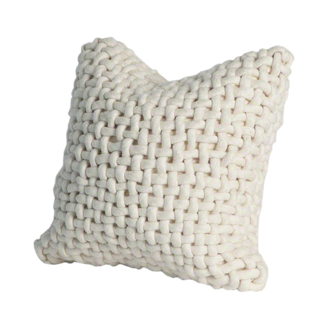 noodle felt pillow bone decorative home accent