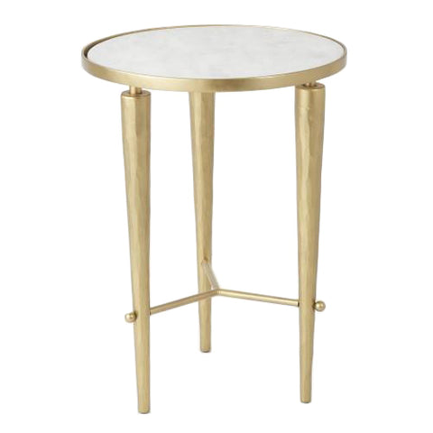 studio a jasper accent table brass marble tearsheet