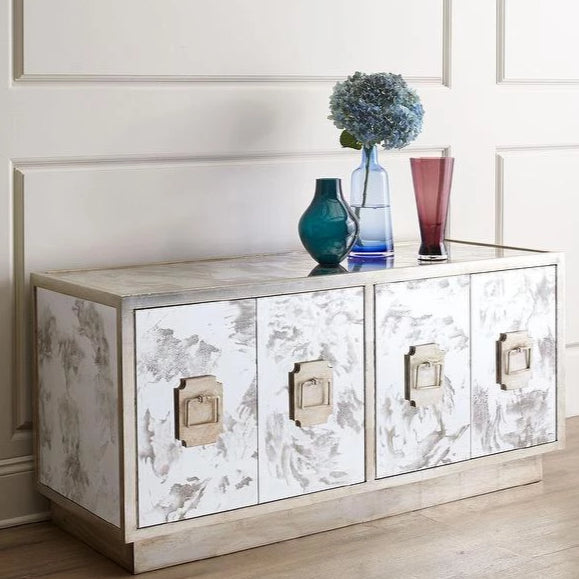 worlds away ponti silver buffet storage