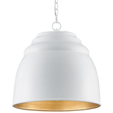 currey and company thalliard pendant white