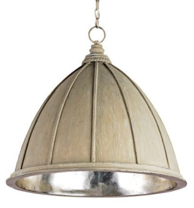 currey and company fenchurch iron pendant cream metal