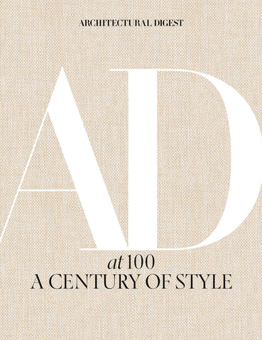 architectural digest book AD at 100