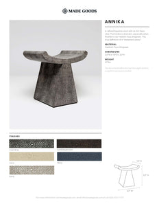 made goods annika stool tearsheet