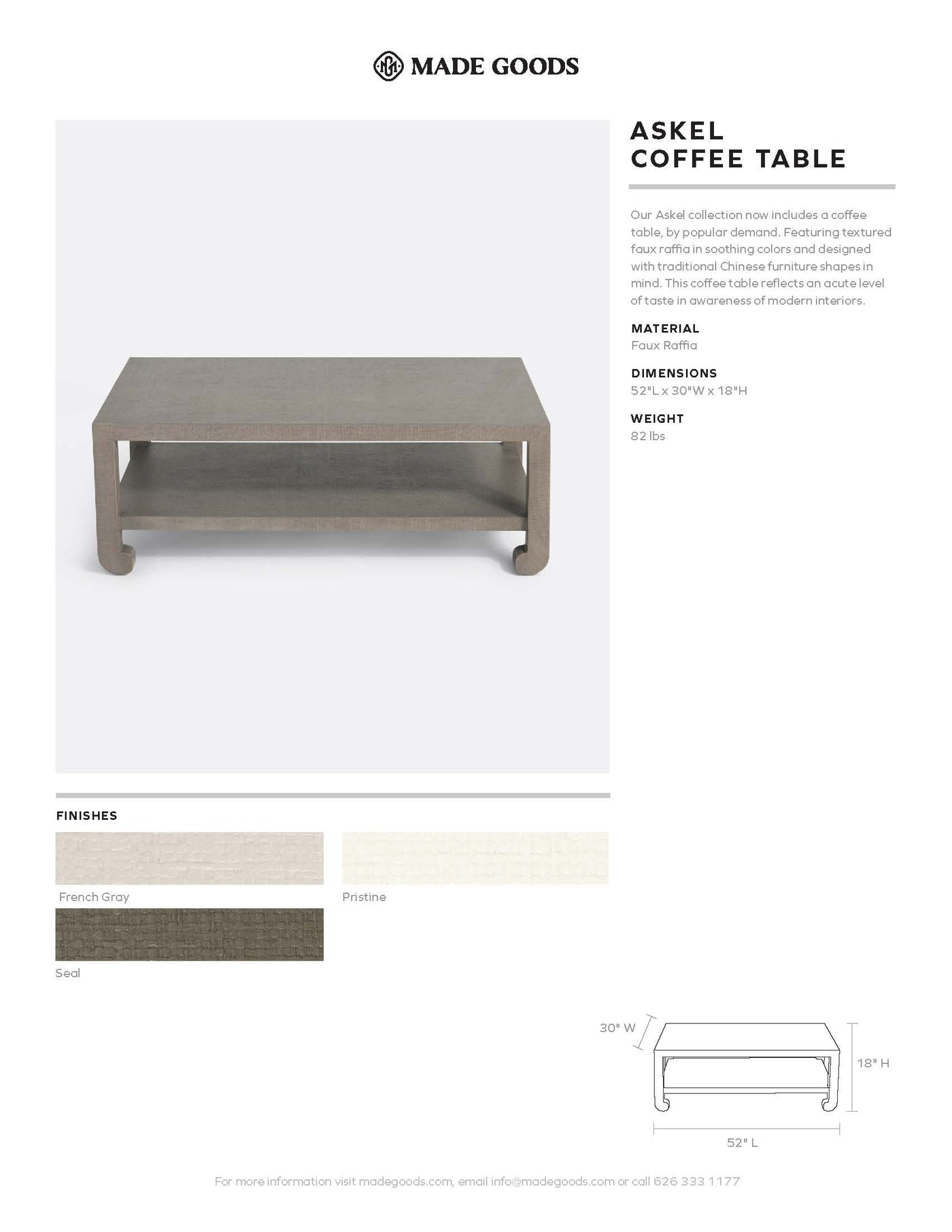 made goods askel coffee table tearsheet