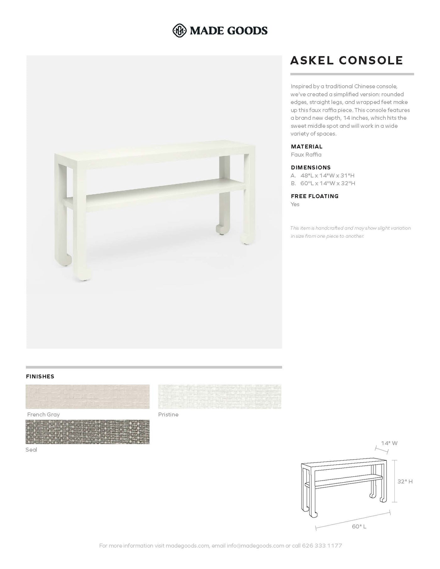 made goods askel console tearsheet