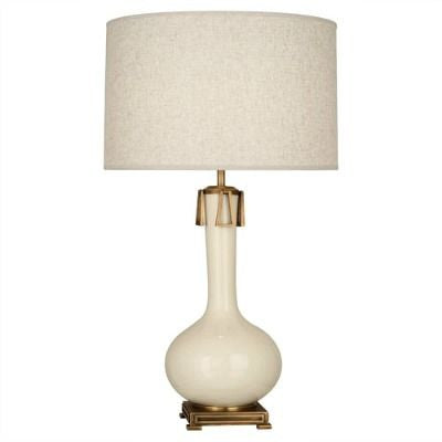 Robert Abbey Athena Table Lamp Bone BN992