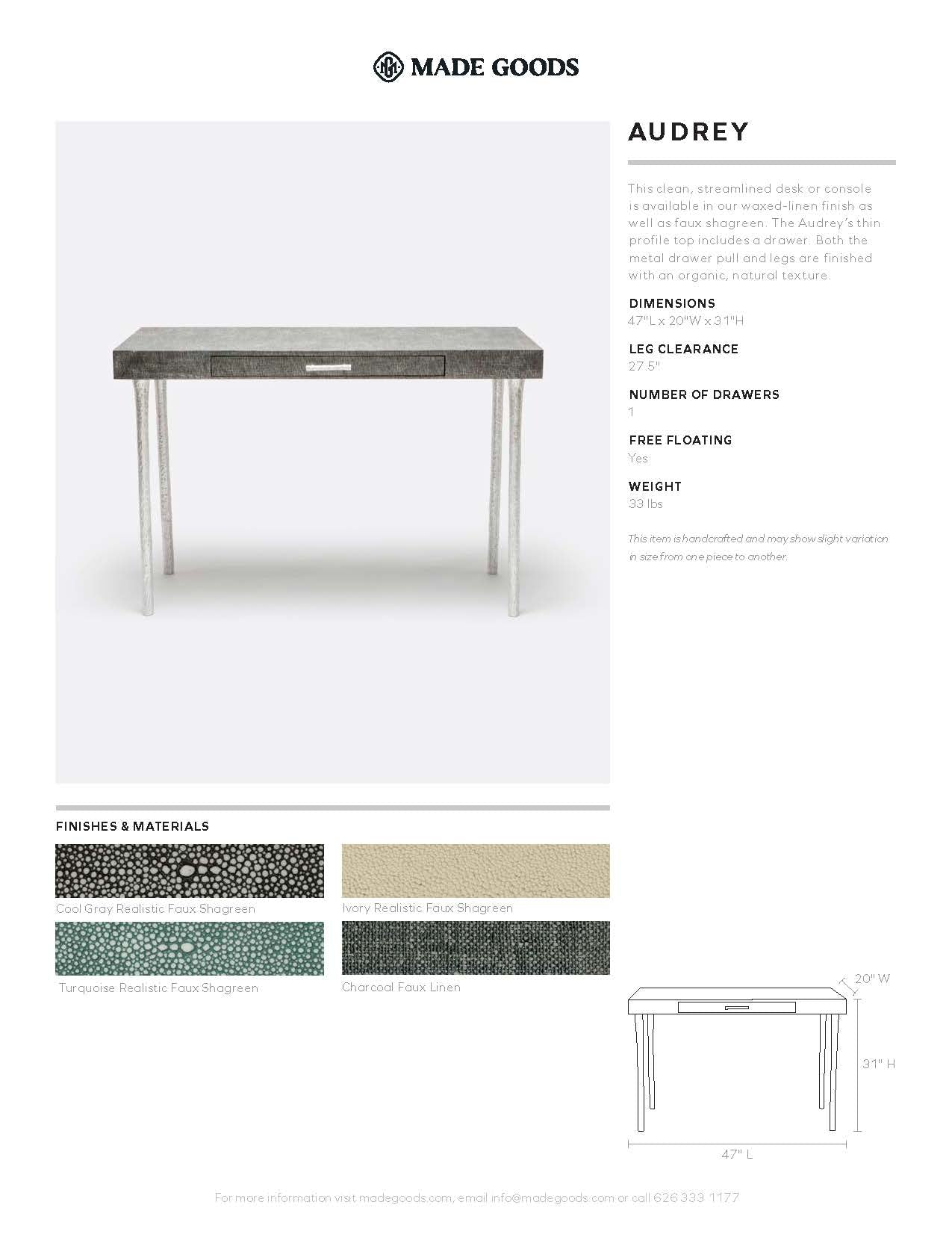 Made Goods Audrey Desk Tearsheet