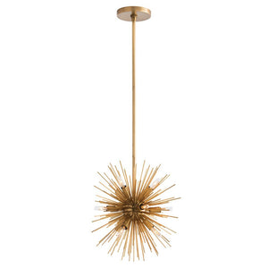 arteriors home zanadoo chandelier antique brass 12 bulb light fixture