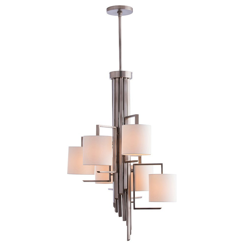 arteriors home elijah chandelier antique silver contemporary lighting 89048