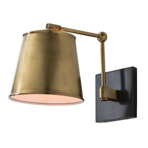 arteriors home watson wall sconce midcentury lighting