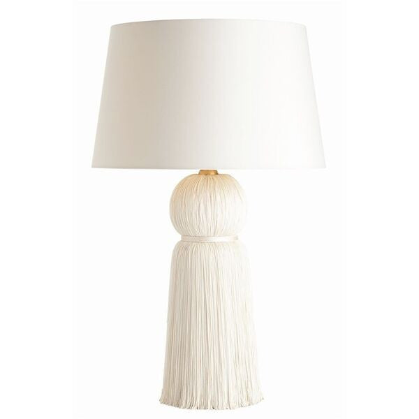 Arteriors Home Tassel Table Lamp Ivory Clayton Gray Home