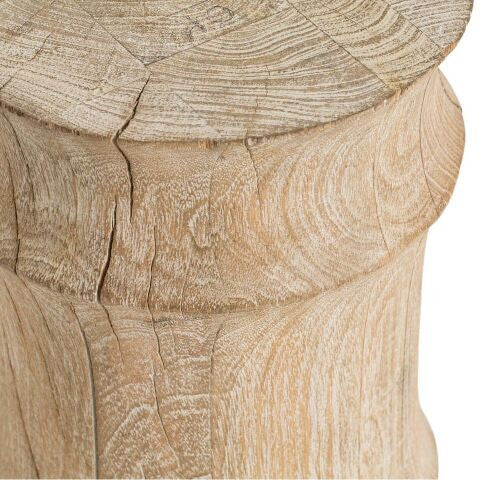 arteries home jesus stool table seating detail close up wood grain 6310