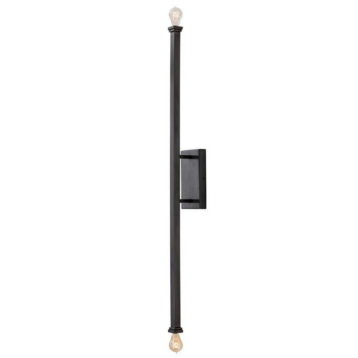 Arteriors Home Hutu Wall Light modern bronze wall sconce detail DS44006
