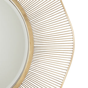 Arteriors Home Olympia Mirror Large modern gold beveled detail 2284