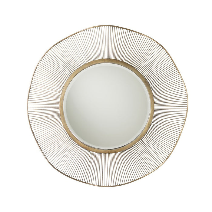 Arteriors Home Olympia Mirror Large modern gold metal 2284