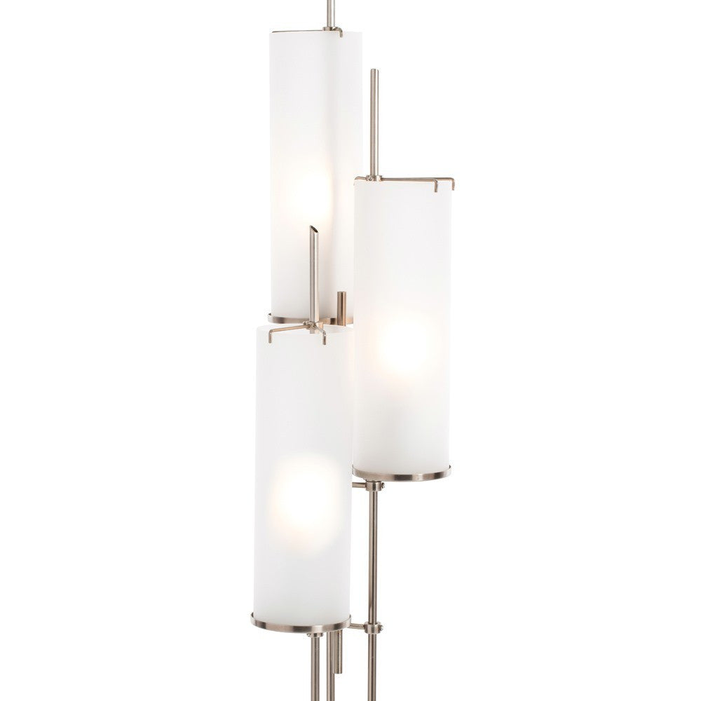arteriors home stefan floor torchiere frosted cylindrical shades