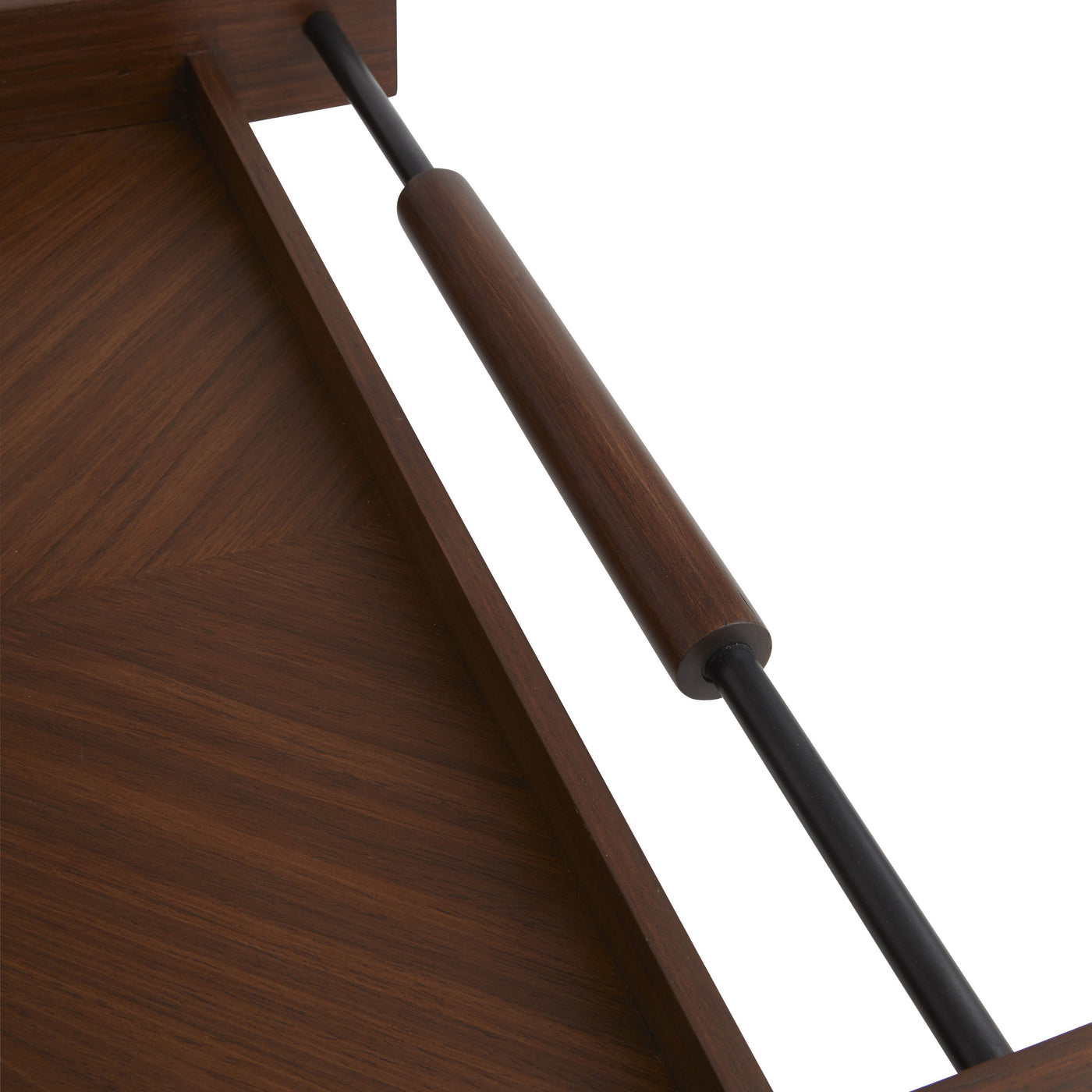 Arteriors Home Tract Tray Handle Detail