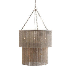 arteriors home james chandelier brass antique nickel finish