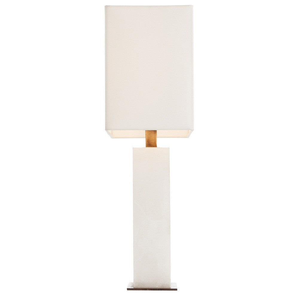 Arteriors Carson Lamp light White Marble Side AH- 42328-798