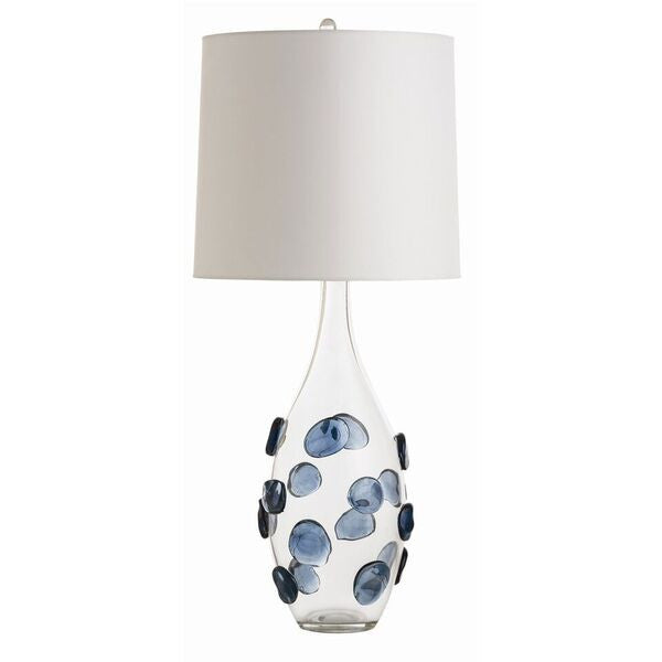 Arteriors home edge table lamp clear glass lighting 17092-323
