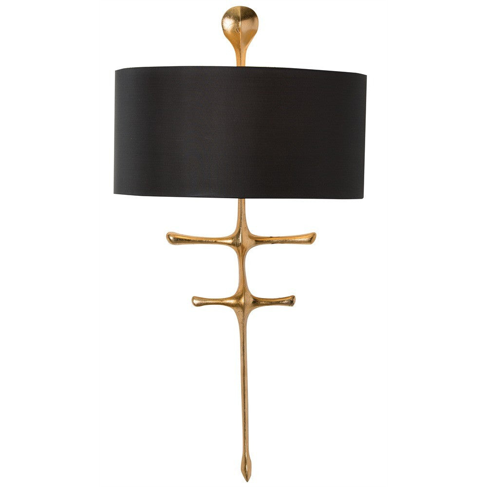 arteriors home gilbert wall sconce lighting organic wall lighting one light wall sconce
