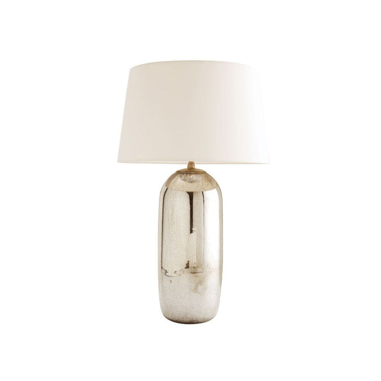 arteriors home anderson table lamp silver tall base bedroom lighting