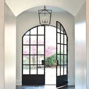 Currey and company denison lantern entryway