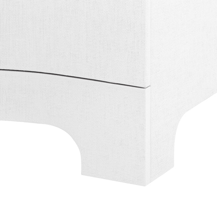 bungalow 5 bardot extra large 9 drawer dresser white BDT-250-59 detail