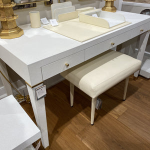 bungalow 5 winston stool ivory leather showroom