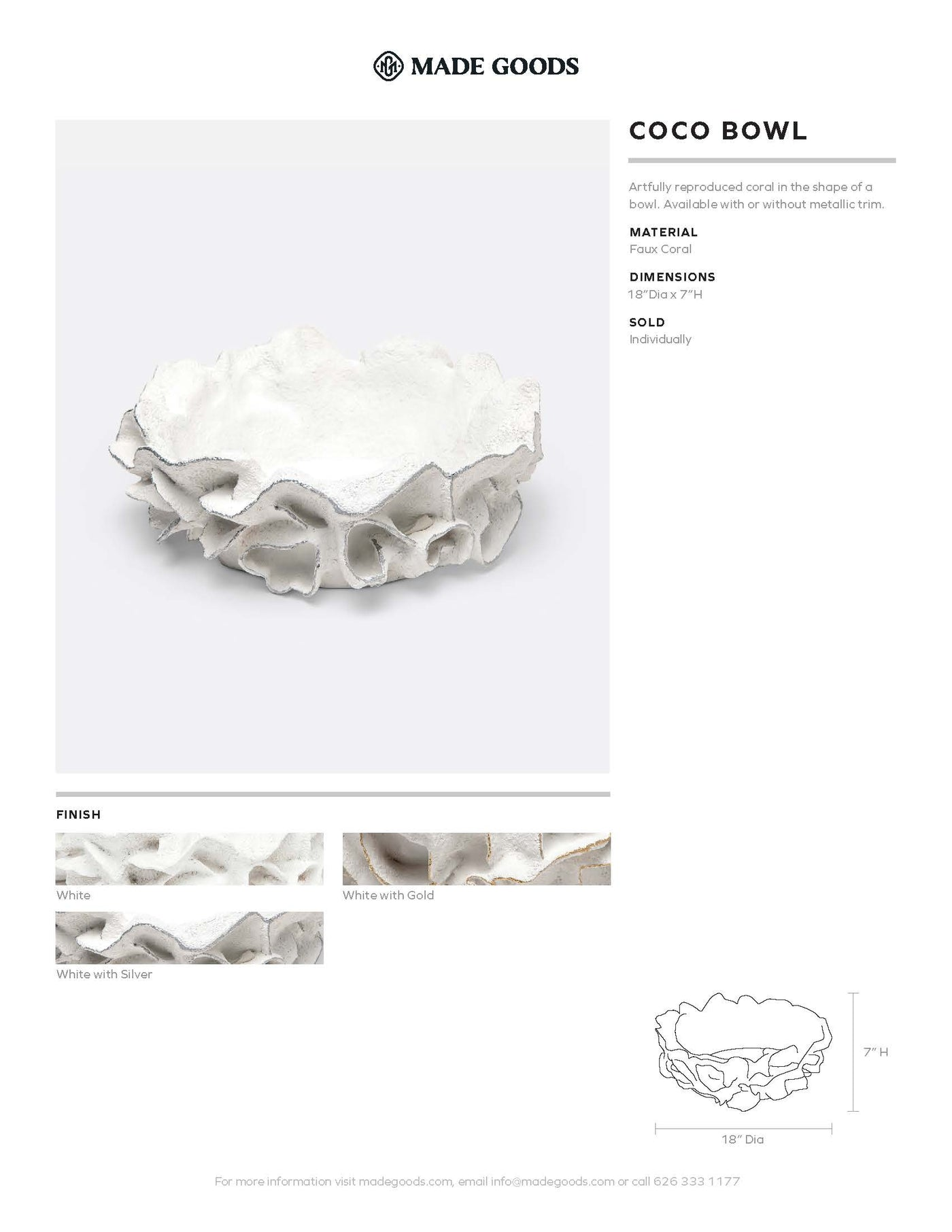 Made Goods Coco Bowl Tearsheet