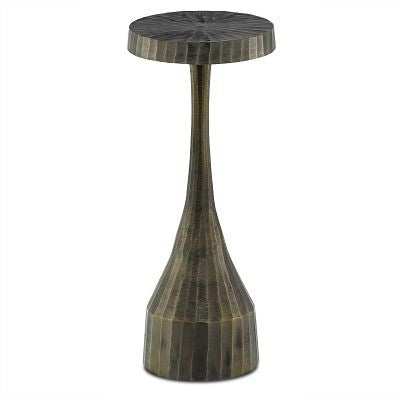 currey and company luca drinks table metal