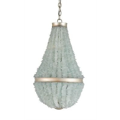 currey and company platea chandelier shell light organic strang