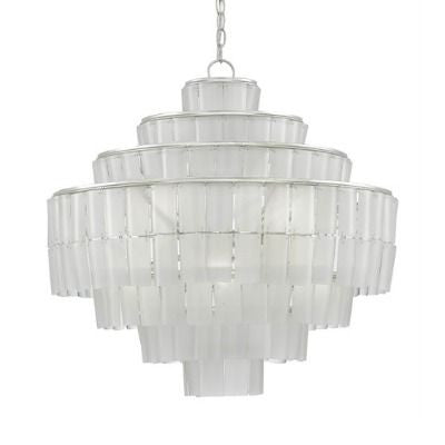 currey and company sommelier chandelier blanc white