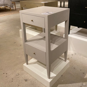 conrad-single nightstand french gray