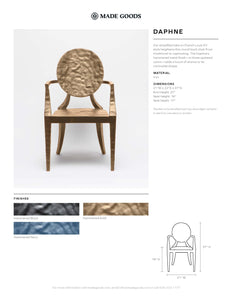 made goods Daphne chair tearsheet