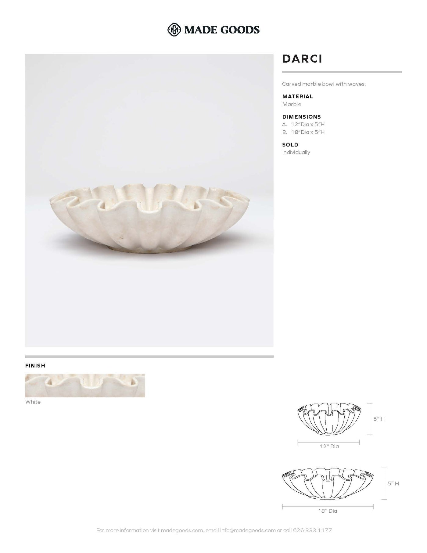 made goods darci marble bowl white tearsheet