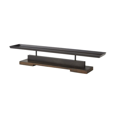arteriors trestle candle tray