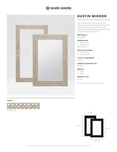 made goods dustin mirror floor tearsheet