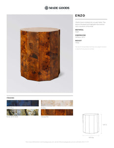 made goods enzo stool tearsheet