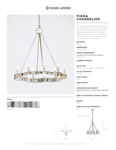 made goods fiona chandelier hanging light fixture chandelier lighting tear sheet