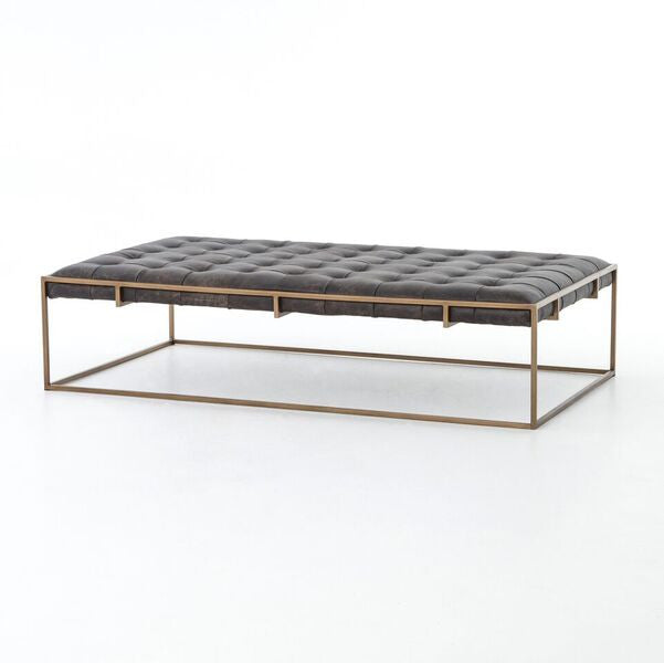 Four Hands Oxford Coffee Table Rialto Ebony