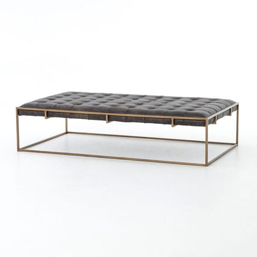 four hands oxford coffee table tufted seating
