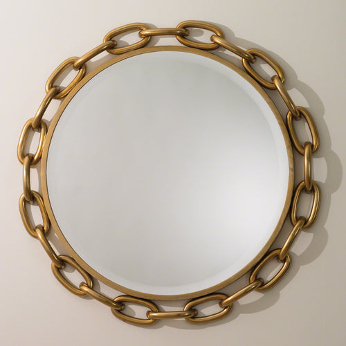 global views linked wall mirror gold foyer oversized large bathroom modern